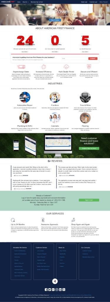 AFF Corporate Website